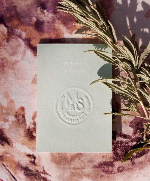 Convite de Casamento  ❤  Campo